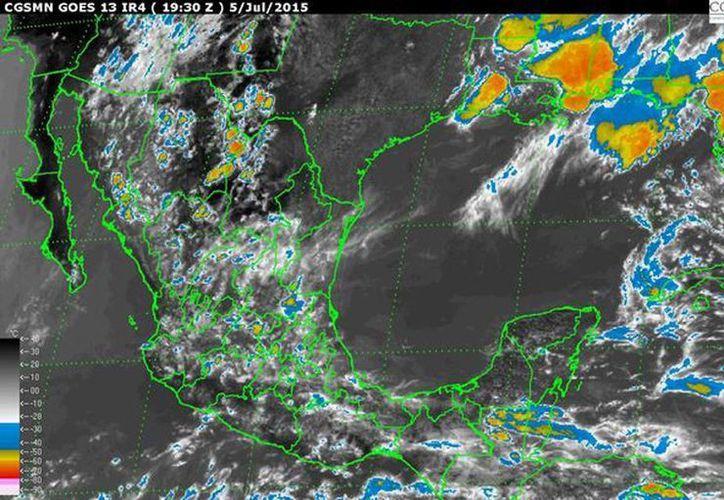 A pesar de la lluvia habrá calor, con valores mayores a 40 grados Celsius, en Baja California Sur, Nayarit, Chihuahua, Baja California, Sonora, Campeche y Yucatán. (smn.conagua.gob.mx)