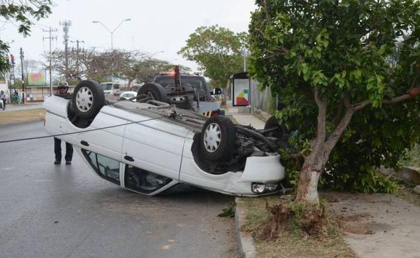 Las cifras de los accidentes revelan una falta de cultura vial. (Foto: archivo/SIPSE)