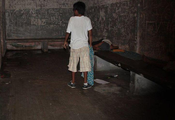 En la cárcel preventiva se carece de sistema de drenaje sanitario. (Julián Miranda/SIPSE)