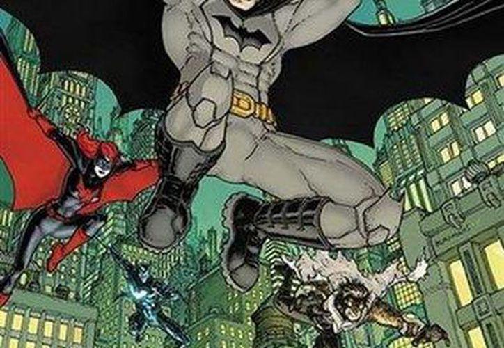 Imagen de 'Batman Eternal' distribuida por DC Comics, previo al lanzamiento de la historieta semanal en 2014. (Agencias)