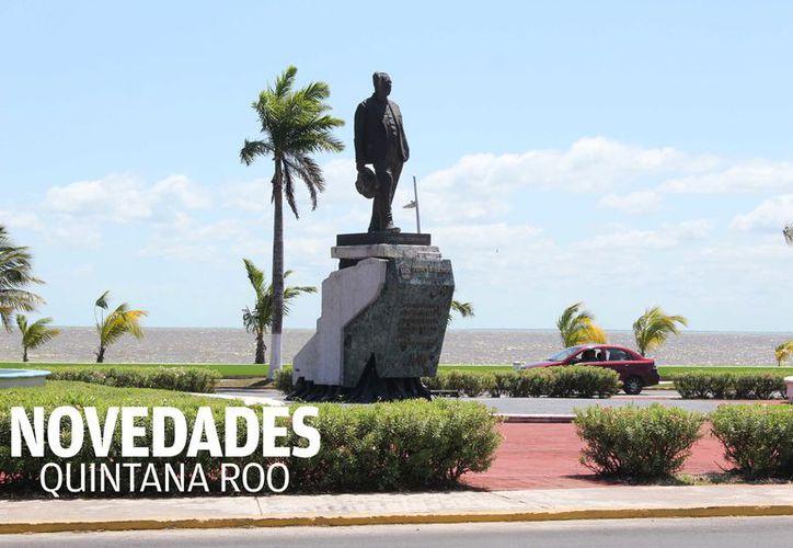Fue presidente de México por el periodo de1934 a 1940 y en 1935 cumplió su palabra y un 16 de enero, encabezó la reincorporación de Quintana Roo como entidad federativa. (Foto: Alejandra Carrión/SIPSE).