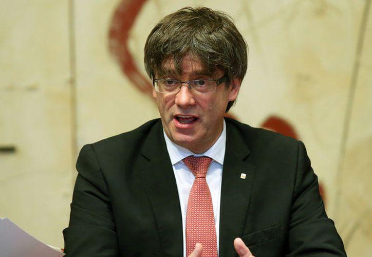 Programa de televisión al aire le pone la música de filme de terror a  ex presidente de Cataluña. (Foto: RT Noticias)
