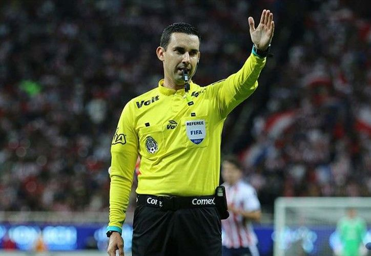 La Selección Mexicana no llegó ni a cuartos de final pero sí el mexicano César Ramos, como árbitro (Foto Imago)