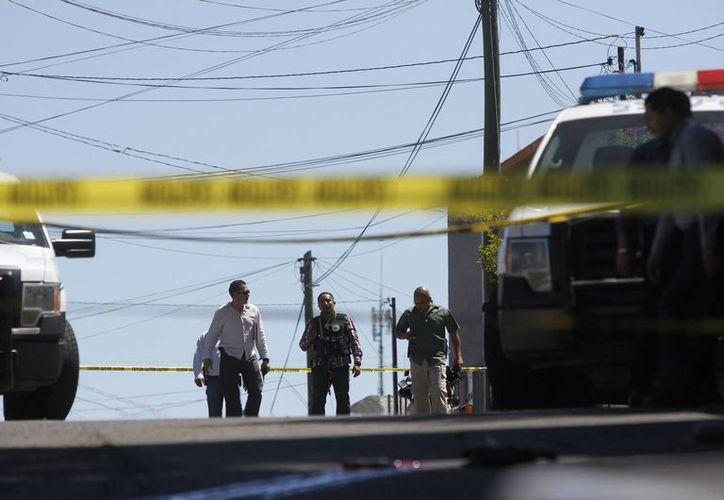La ola de violencia en México ha dejado más de 100 mil muertes desde el año 2007, ubicando al país en el último sitio de la lista de seguridad de la OCDE. (Archivo/Notimex)