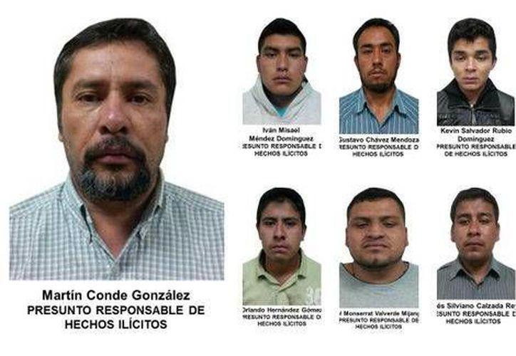 Imagen de los presuntos secuestradores, proporcionada por las autoridades. (MILENIO)
