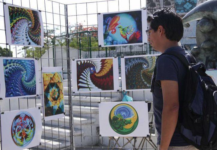 En el parque Las Palapas se presentaron diversas actividades artísticas para todo el público. (Andrea Aponte/SIPSE)