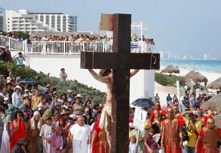 El turismo religioso aún no es de los segmentos mayoritarios, pero está creciendo. (Israel Leal/SIPSE)