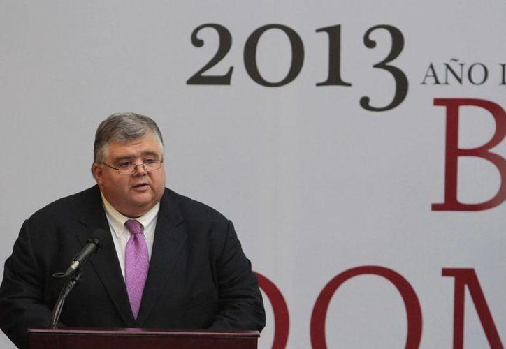 Carstens indicó que la economía nacional está mostrando señas de crecimiento. (Notimex)