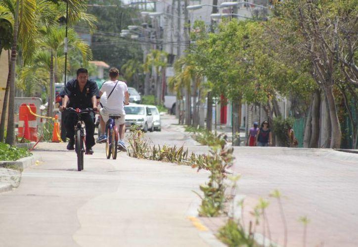 La segunda fase de la remodelación de la Décima Avenida está entre los proyectos. (Adrián Barreto/SIPSE)