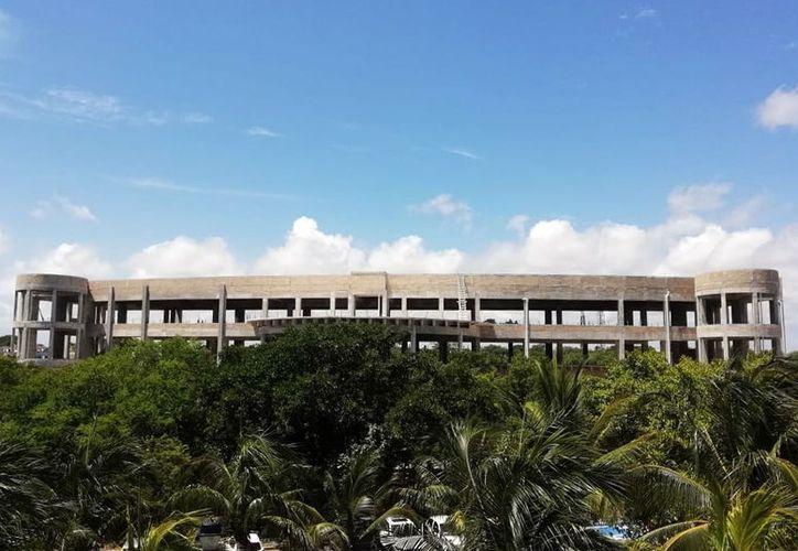 La Unicaribe estrenará parcialmente su edificio. (Paola Chiomante/SIPSE)