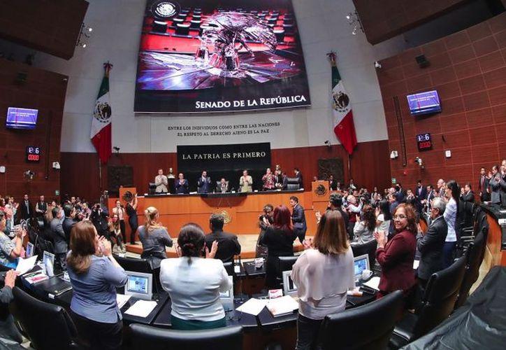 Dentro Senado hay seis asesores en cuyo currículum no se observa experiencia alguna en temas relacionados y cobran más de 49 mil pesos al mes. (senado.gob.mx)
