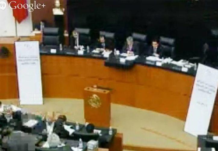 Los senadores retomaron las comisiones de Energía  (Captura de pantalla de comunicacion.senado.gob.mx)