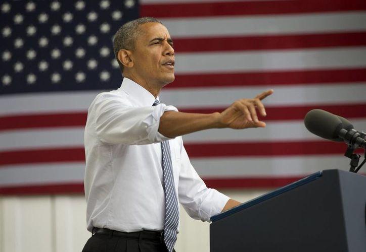 Obama habla sobre la economía de Estados Unidos en Mineápolis, Minnesota. (Agencias)