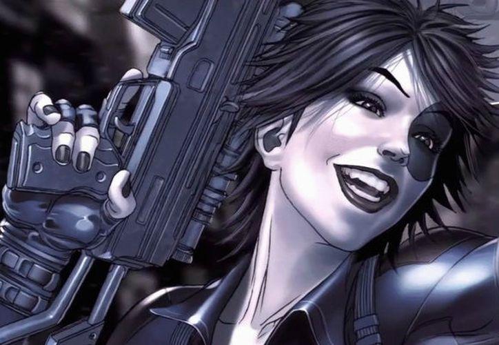 Domino apareció por primera ocasión en el comic de X-Men (X-Force), se trata de una mutante con poderes telequinéticos. (Internet/Contexto)