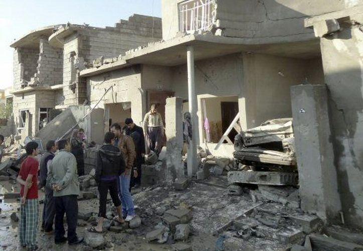 Al menos 20 personas resultaron muertas por la serie de atentados. (Agencias)