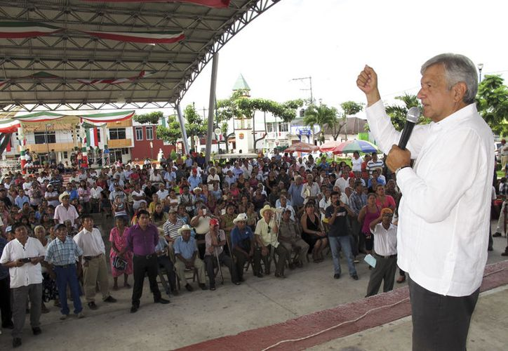 Chiapas es el punto de arranque de los foros educativos de Andrés Manuel López Obrador. (AMLO)