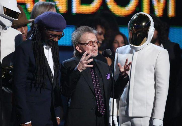 Daft Punk ganó el Grammy al disco del año por 'Random Access Memories'. (Agencias)