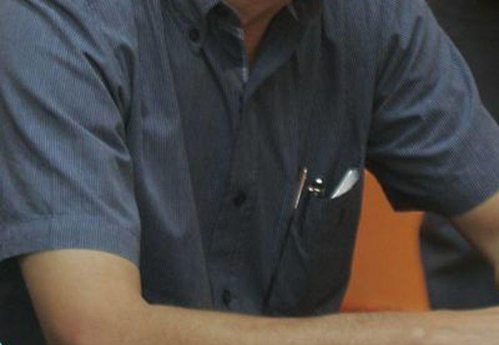 El presidente del comité estatal del PRD, Julio Cesar Lara Martínez. (Archivo/SIPSE)