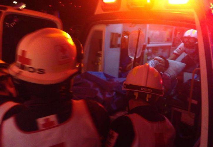 Una persona herida de bala movilizó a las corporaciones policíacas a Leona Vicario esta noche. (Redacción/SIPSE)