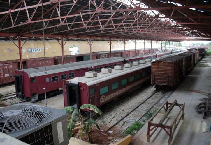 La exestación de trenes, conocida popularmente como La Plancha. (SIPSE)