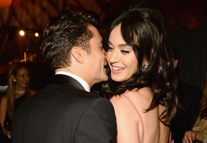 Katy y Orlando terminaron su relación sin dar detalles de la razón. (Foto: Contexto)