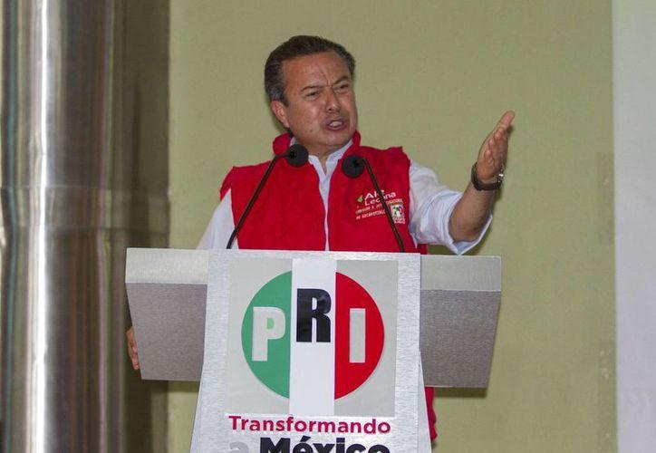 El líder partidista,  César Camacho Quiroz,  dijo que no caerán en el recuento, como otros institutos que se culpan de sus malos resultados. (Archivo/Notimex)