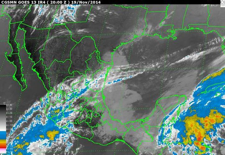 El sistema favorece la propagación de nubosidad hacia el occidente del país, reforzando el potencial de lluvias. (cna.gob.mx)
