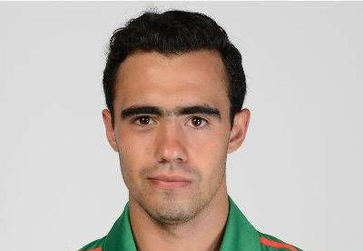 Francisco Javier M. Zorrilla Cano, jugador sub-20 de Jaguares de Chiapas. (Segunda División)