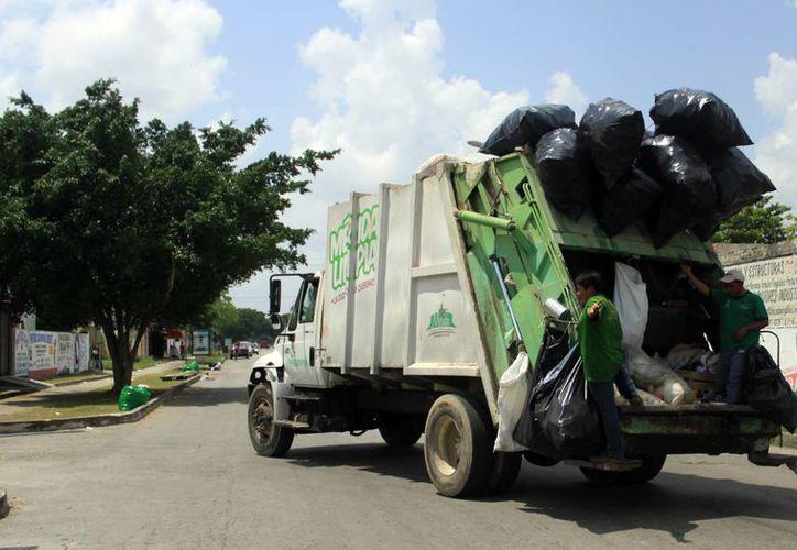 """Ciudadanos tiene derecho a sacar dos bolsas """"jumbo"""" de basura, por cada día de recolección. (Milenio Novedades)"""