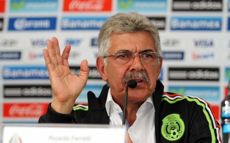 Ricardo Ferretti Seleccion Mexicana