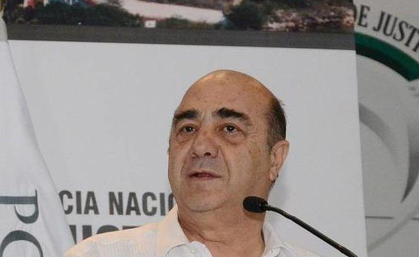 Murillo Karam, quien estuvo este jueves en Michoacán y Yucatán, afirma que antes no existía siquiera una estrategia antisecuestro. (Notimex/Archivo)