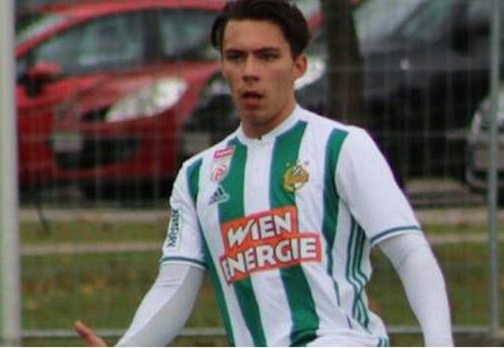 Christian Ehrnhofer Rodríguez es mexicano, juega en el segundo equipo de Rapid Viena. (Foto: SDP Noticias)