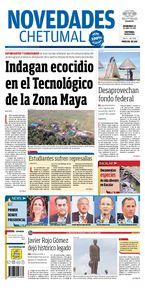 Indagan ecocidio en el Tecnológico de la Zona Maya