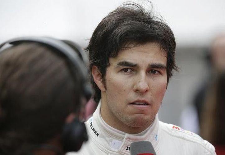 """El año pasado """"Checo"""" Pérez terminó tres carreras entre los tres mejores lugares con Sauber. (Notimex/Foto de archivo)"""