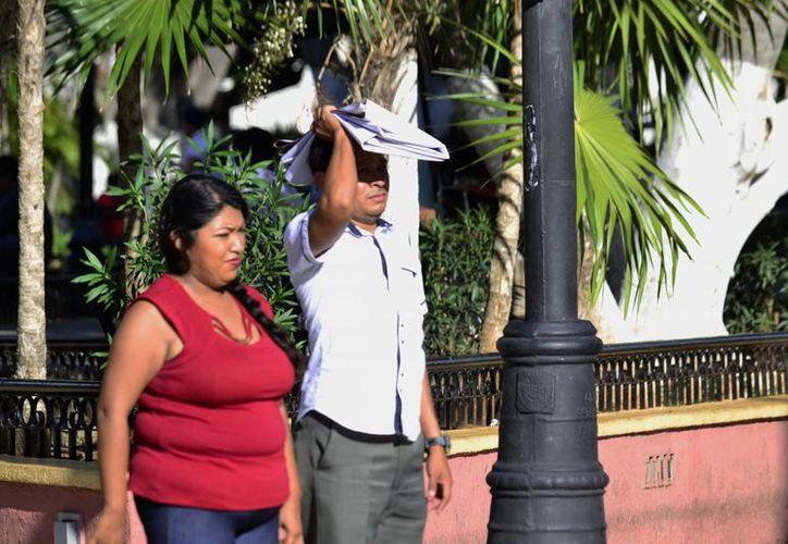 El pronóstico del clima para Yucatán para este martes es de lluvia con mucho calor. (SIPSE)