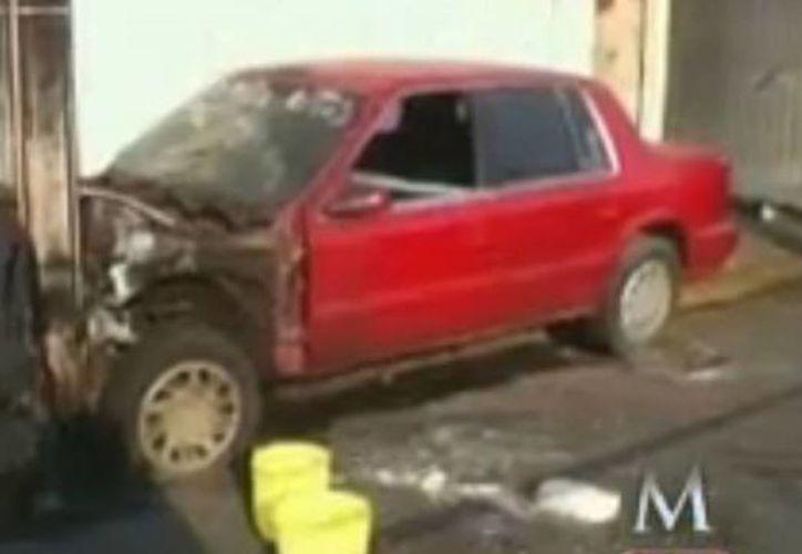 Hoy se dio el hallazgo de una granada y dos vehículos calcinados en el Neza. (Milenio)