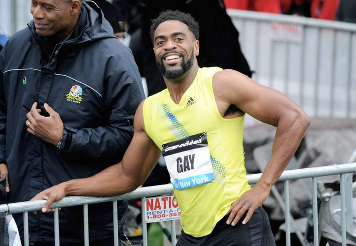 Tyson Gay se clasificó al mundial de atletismo con una marca de 9.75. (Foto: EFE)