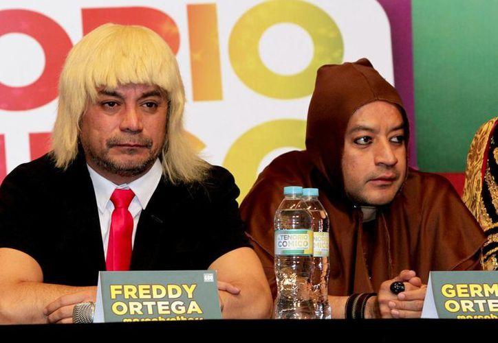 """Germán Ortega, quien aparece junto con su hermano Freddy, dice que ambos todavía pueden dar buen """"rating"""" en comedia. (Foto de archivo de Notimex)"""