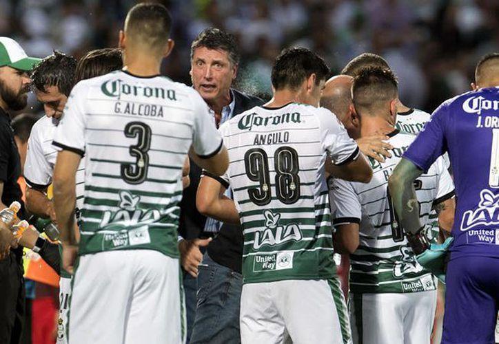 Santos se prepara para el juego en Toluca (Foto: SIPSE)