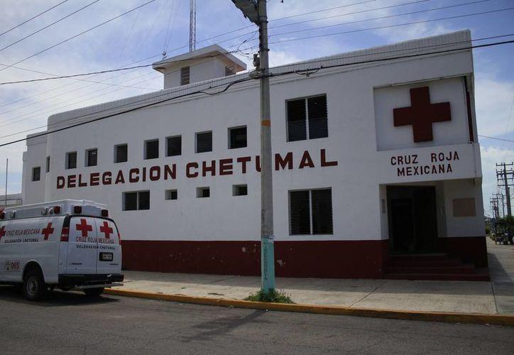La colecta para la Cruz Roja de Chetumal concluirá hasta el 31 de mayo. (Harold Alcocer/SIPSE)