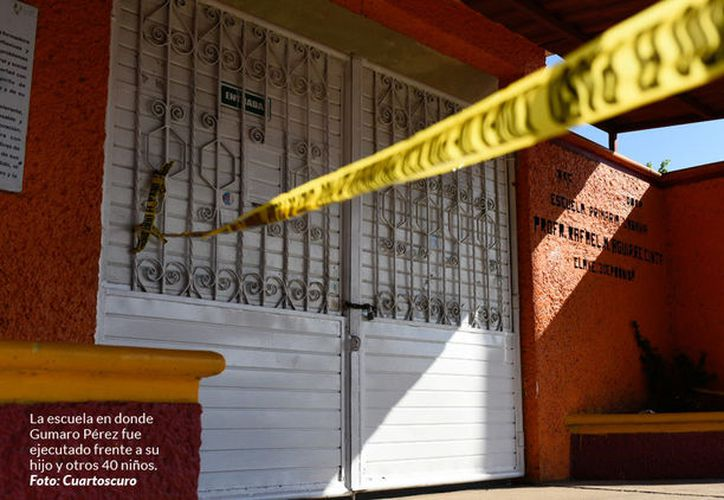 Al periodista le dispararon en repetidas ocasiones en presencia de niños y padres de familia. (Sin Embargo)