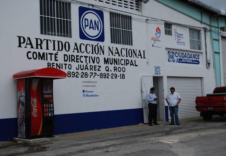 Comité Directivo Municipal del PAN prepara la coalición PAN-PRD. (Tomás Álvarez/SIPSE)