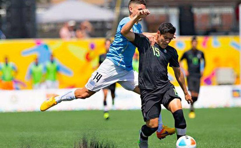 México no pudo superar a Uruguay para llevar el oro en el futbol de los Juegos Panamericanos 2015. De paso, los sudamericanos se llevaron la única medalla de oro de la justa. (Conade)