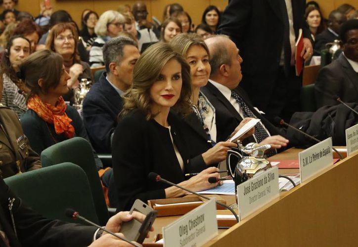 La reina Letizia de España es embajadora especial de la FAO para la Nutrición. (Casa Real de España)