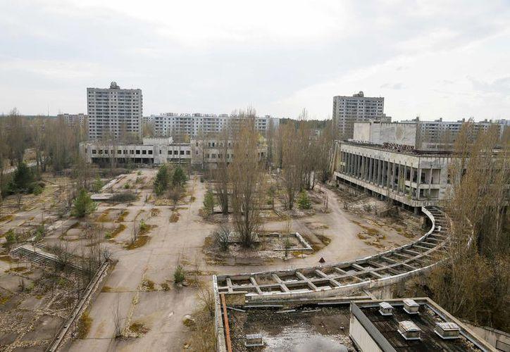 El 26 de abril de 1986 el reactor número 4 de la central nuclear de Chernobyl explotó cuando se realizaba una prueba de seguridad. (AP)
