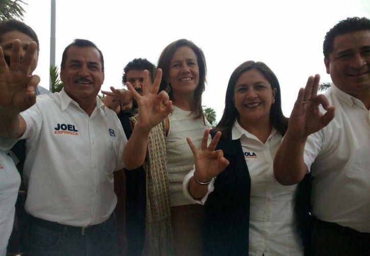 Por la tarde, Margarita Zavala hará un recorrido por la Región 95 de Cancún. (Alejandra Galicia/SIPSE)