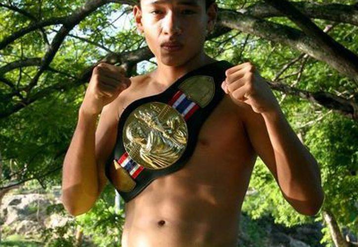 """El """"Tuzo"""" Cruz Alemán  apenas tiene 16 años de edad. (SIPSE)"""