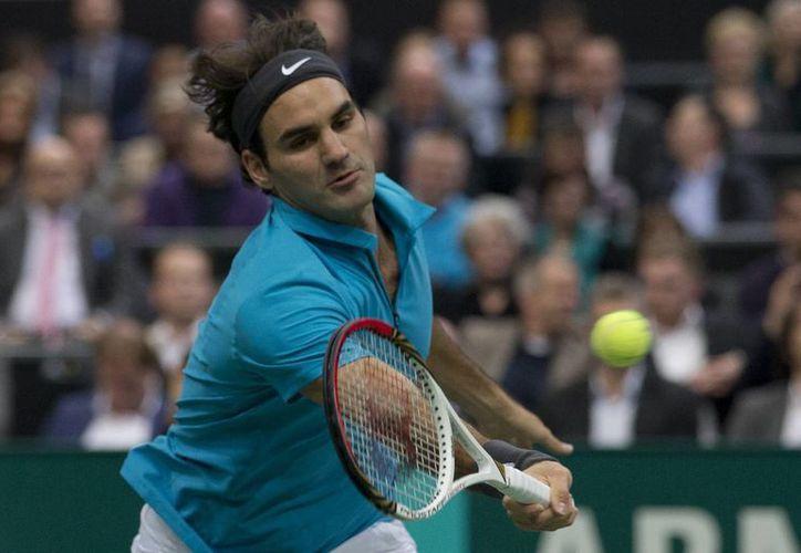 En la siguiente ronda Federer se enfrentará con el local Thiemo de Bakker. (AP)