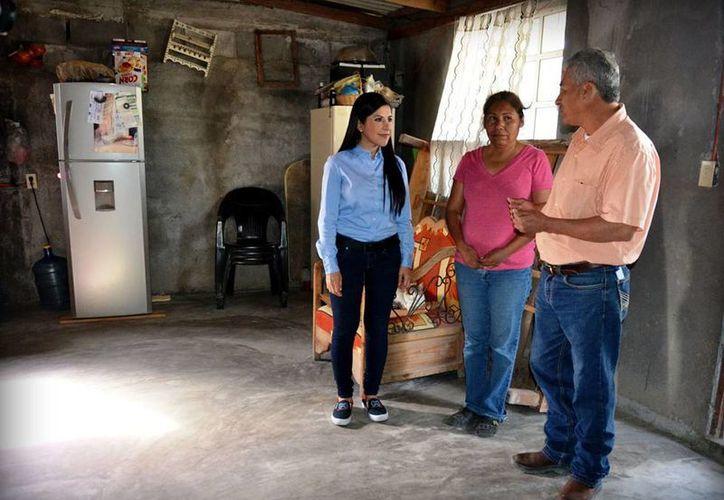 La alcaldesa de Matamoros, Leticia Salazar Vázquez (izq), sufrió un atentado. (matamoros.gob.mx)