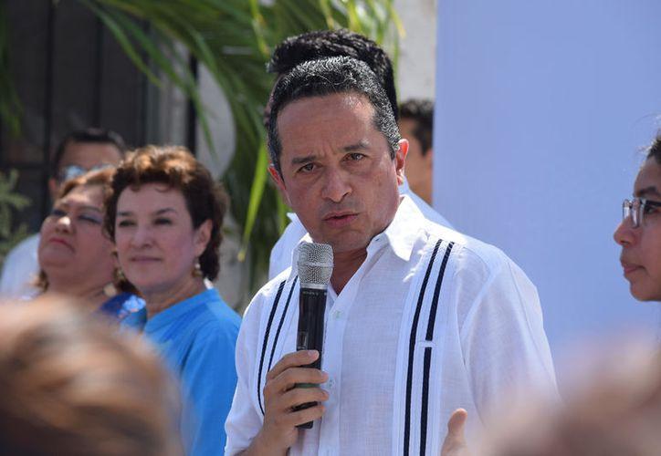 Reiteró su compromiso por hacer de su Gobierno un Gobierno transparente. (Foto: Gustavo Villegas/SIPSE)